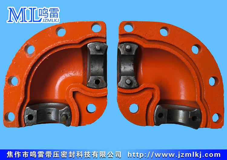 焊接弯头成型夹具